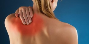 Pain between the shoulder blades