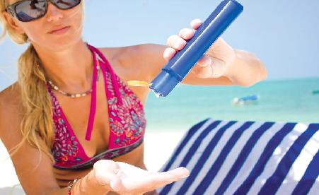Dangers of using sun protection creams