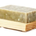 Solid soap for cleansing your face