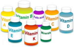 Deficiency of vitamins and minerals